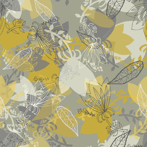 Morning Light, lined motifs, by Susanne Mason