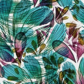 TROPICAL FOREIGN FLOWER 1