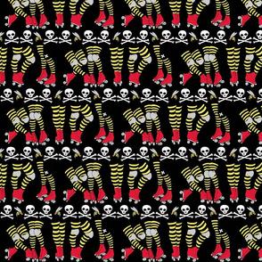 Derby Legs Black the Killer Beesocks!-ch