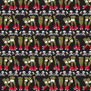 Derby Legs Black the Killer Beesocks!-ch-ch
