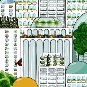 Modern Gardening in Metropolis