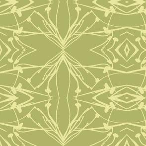 Hawkweed (Yellow on Green)