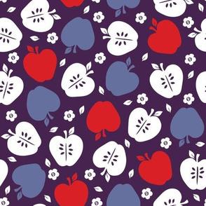 Apples in Indigo
