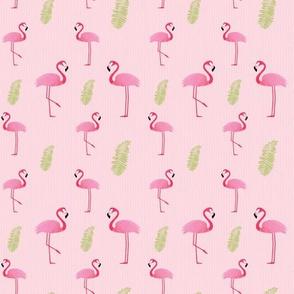 Flamingo Tropic Seersucker
