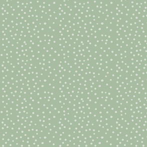 Dots soft green