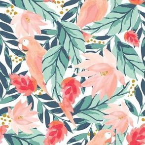 IBD Floral Tropic Parrot B