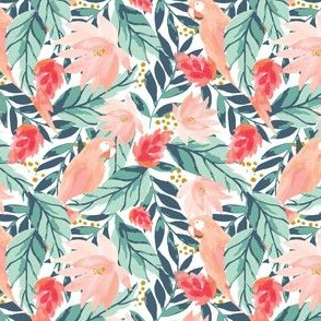 IBD Floral Tropic Parrot A