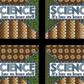 Science: It's How We Know Stuff - Brown/Green