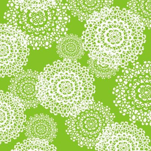 Brr Snowflakes Green