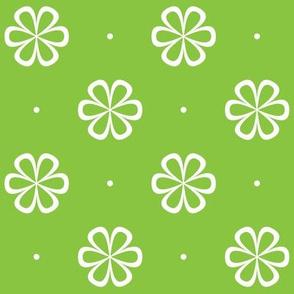 Infinity Flower Green