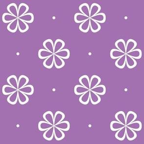 Infinity Flower Violet