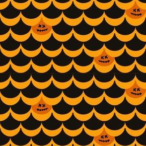 Halloween Pumpkin Clamshell