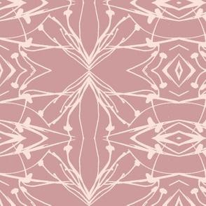 Hawkweed (Pink on Rose)