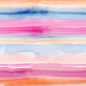 Perry Watercolor Stripes