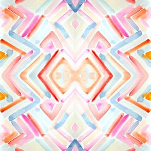 Perry Geometric Watercolor