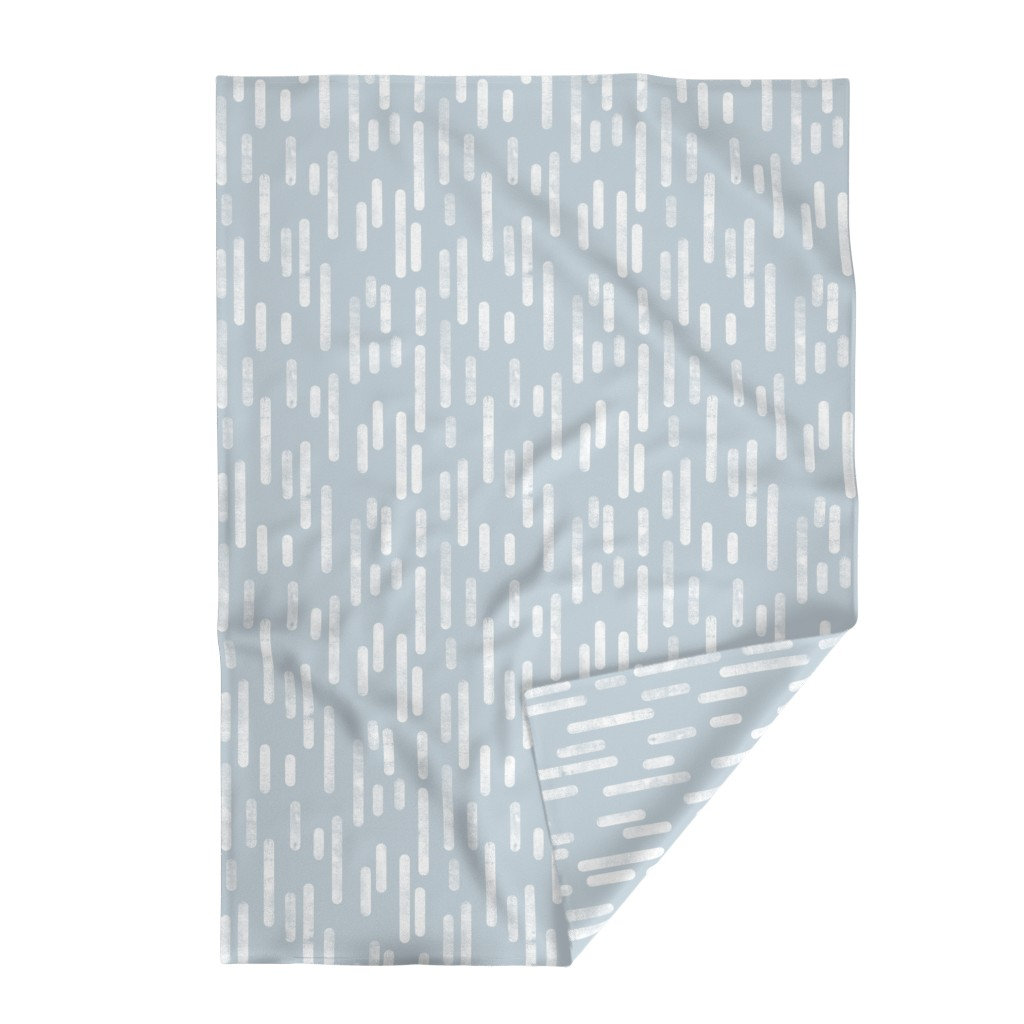 Lakenvelder Throw Blanket featuring Soft Silvery Blue and White Hexagonal Print by itsjensworld