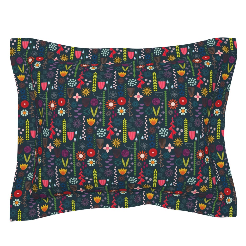 Sebright Pillow Sham featuring Save the Bees! by katerhees