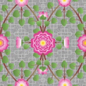 Wild Roses Garden Pink