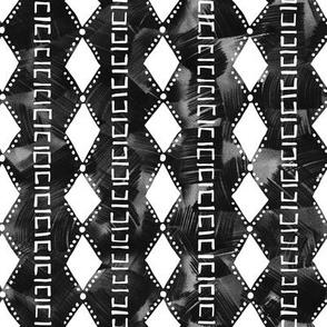kahala diamond stripe black