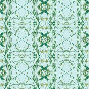 Tic-Tac-Toe (Mint & Green)