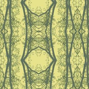 Green Man (Yellow & Olive)