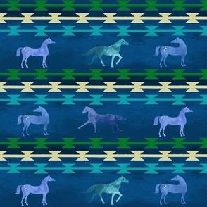 Moonlit Ponies Western Stripes