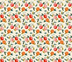 Painted oranges