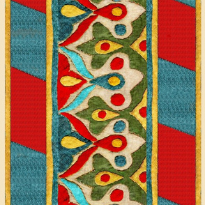 Ottoman Applique Border