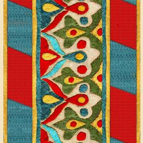 Ottoman Applique Border