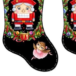 Christmas stocking Nutcracker Ballerina