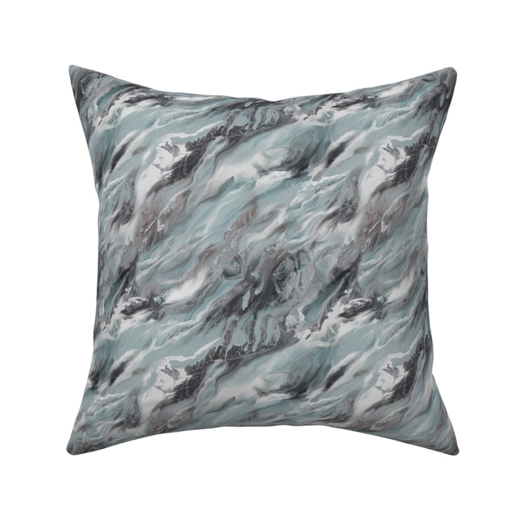 Catalan Throw Pillow featuring Earth Matters by artonfabric