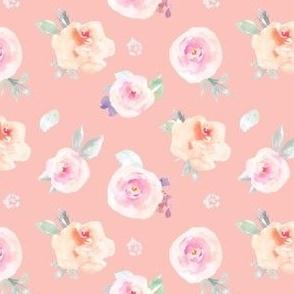 Cute Pink Pastel Floral