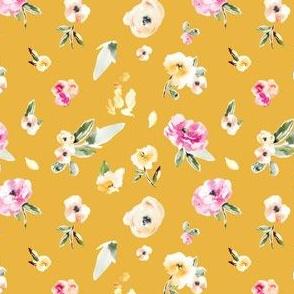 Frida Vintage Yellow Floral