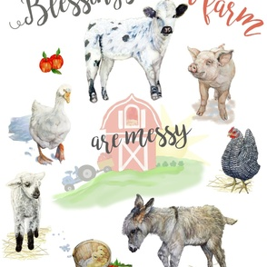 Blessed Mess Farmhouse Kids