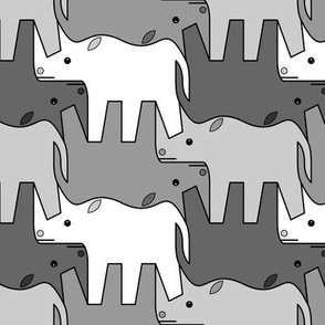 07481221 © rhinoceros 2 x4 : grey