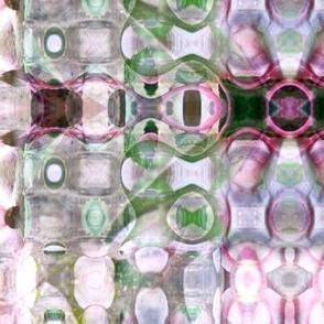 Helleborous 'pink marble' pastel crop