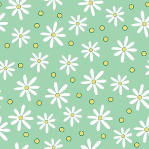 White Daisies (March)