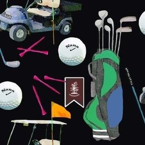 Custom Nana Pinehaven Golf Pattern