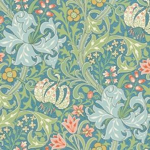 """Golden Lily ~ Original ~ 24"""" ~ The William Morris Collection"""