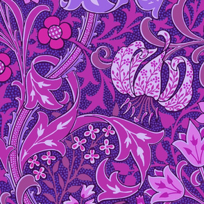 Golden Lily ~ Blair ~ The William Morris Collection