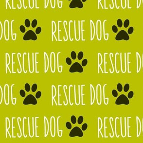 Rescue Dog Lime Big