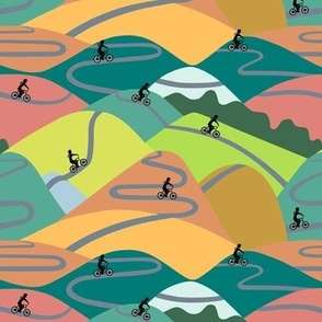 Mountain rides summer - small
