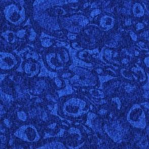 Barcelona linen denim blue small