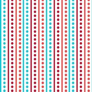 Brr Stripes Blue Red
