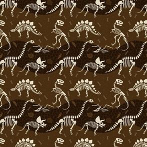 Dinosaur Fossil Pattern