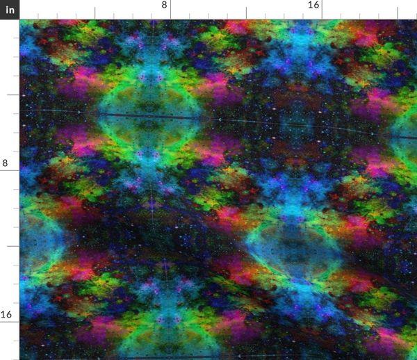 7490131 neon galaxy by osborngraphics