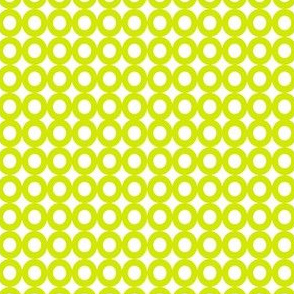 Modern Whimsy Circles Citron