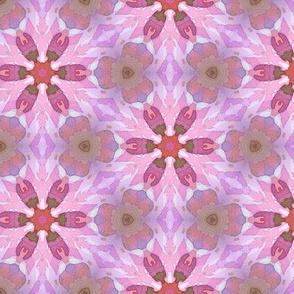 Pink petal pattern