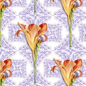Daylily lace