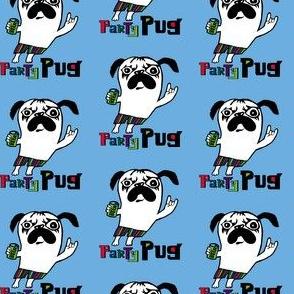 party pug blue